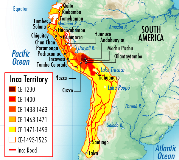 an analysis of the demise of the inca empire It came to an end at about 1532 because the spanish conquistadorsunder francisco pizarro invaded the inca empire and killed the incaruler atahualpa.